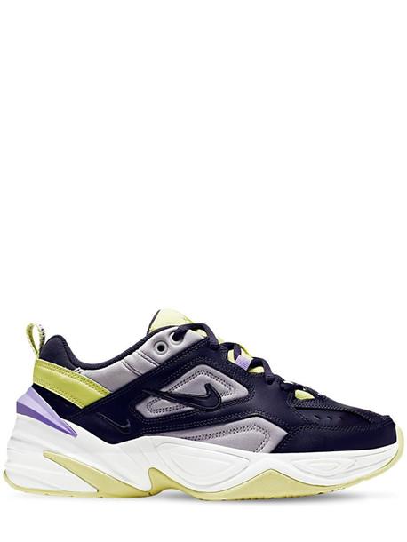 NIKE Tekno Sneakers in black / purple