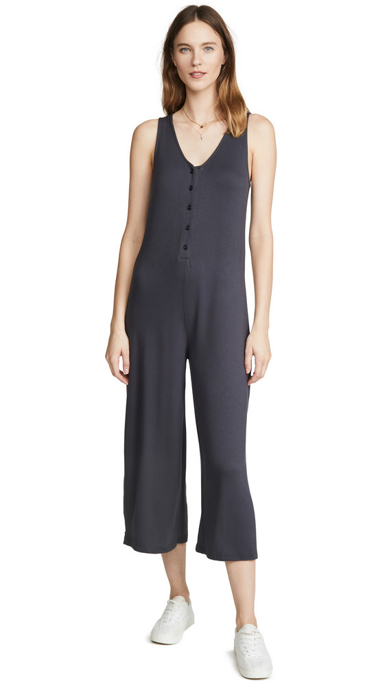 Z Supply The Mojave Jumpsuit in black