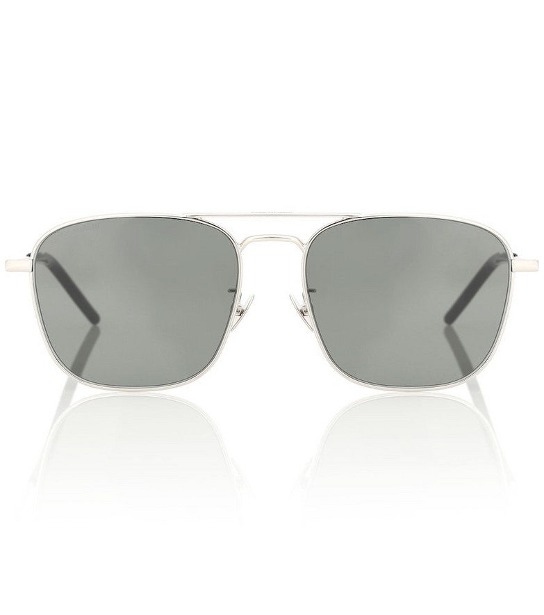 Saint Laurent SL 309 aviator sunglasses in grey