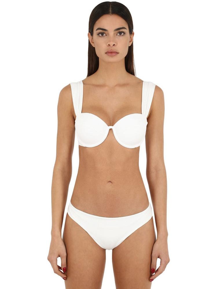 ARABELLA LONDON The Contour Bikini Top W/ Underwire in ivory