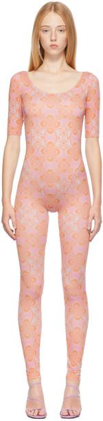 Maisie Wilen Pink Altered State Jumpsuit