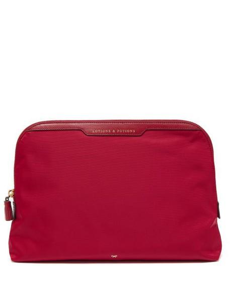 Anya Hindmarch - Lotions & Potions Wash Bag - Womens - Red Multi