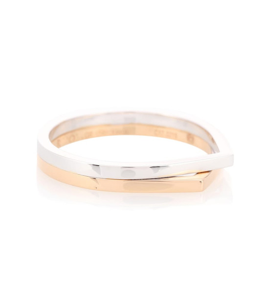 Repossi Antifer 18kt white and rose gold ring