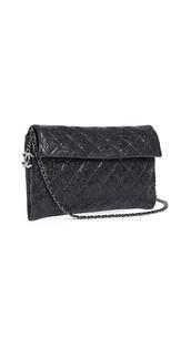metallic,bag,shoulder bag,black
