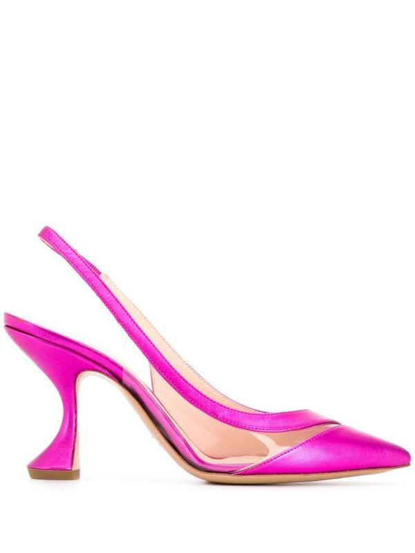 Nicholas Kirkwood ALYSSA slingback pumps 85mm in pink