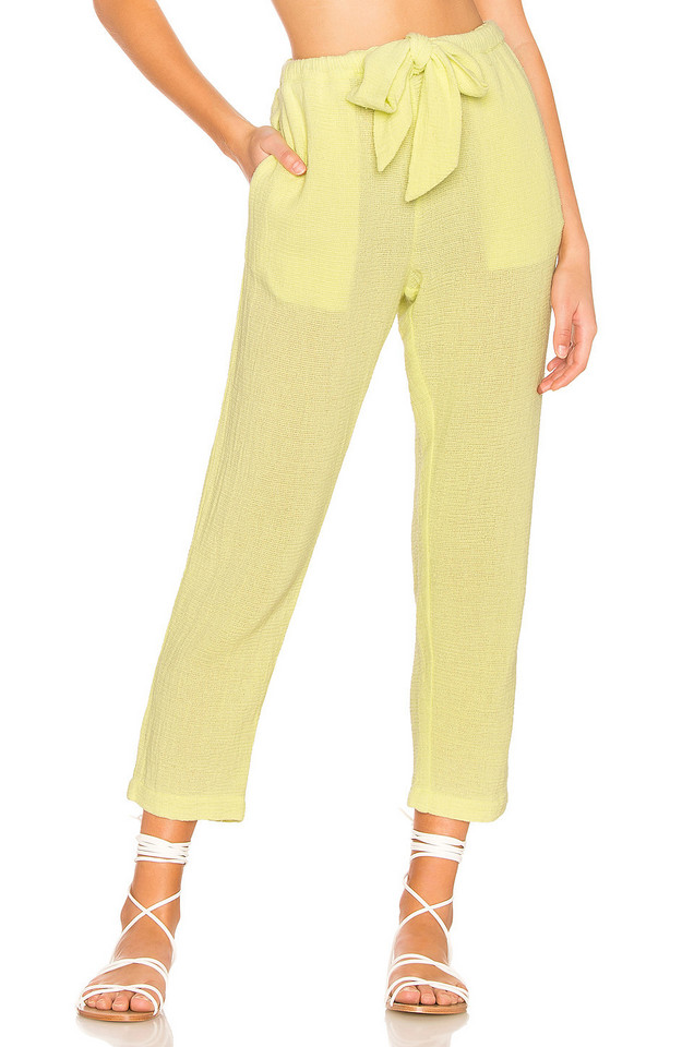 Cali Dreaming Day Pant in yellow