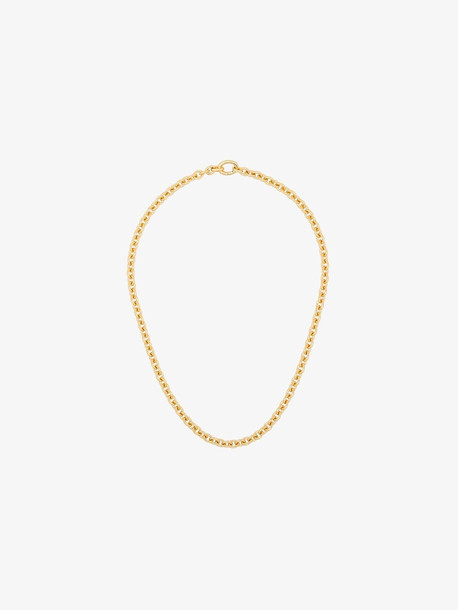 Tom Wood gold tone slim chain necklace
