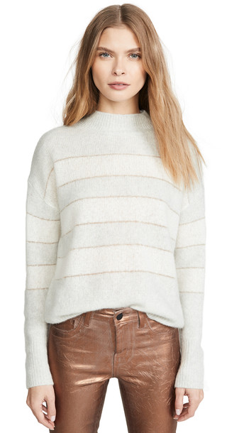 RAILS Ellise Cashmere Sweater in ivory