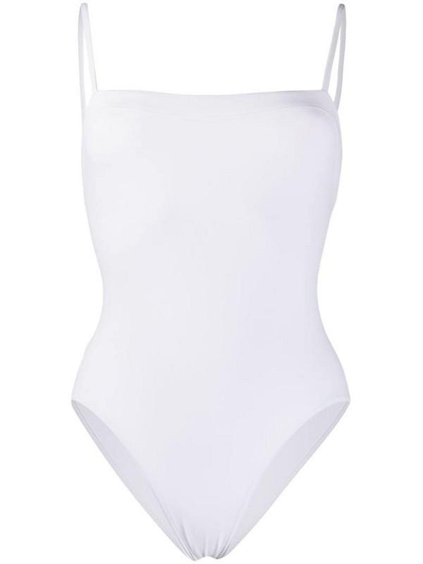 Eres spaghetti strap swimsuit in white