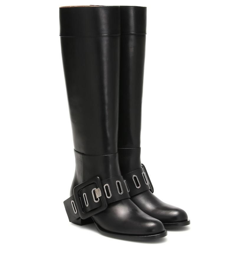 Samuele Failli Ele leather boots in black