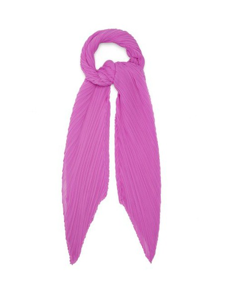 Pleats Please Issey Miyake - Madame T Scarf - Womens - Pink