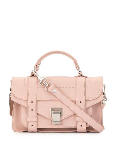 Proenza Schouler PS1 Tiny satchel bag in pink
