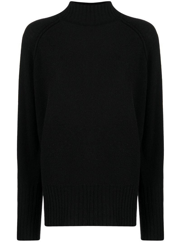 Blumarine high-neck jumper in black