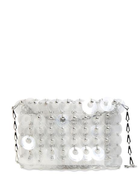 PACO RABANNE Sparkle 1969 Embellished Shoulder Bag in transparent