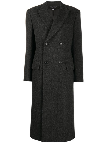Junya Watanabe fitted double-breasted coat in grey