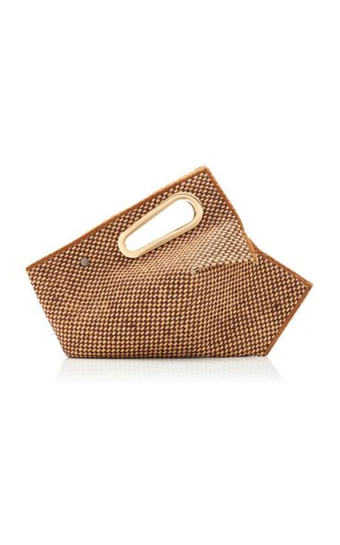 Khaore Athaarah Two-Tone Jute Bag in brown