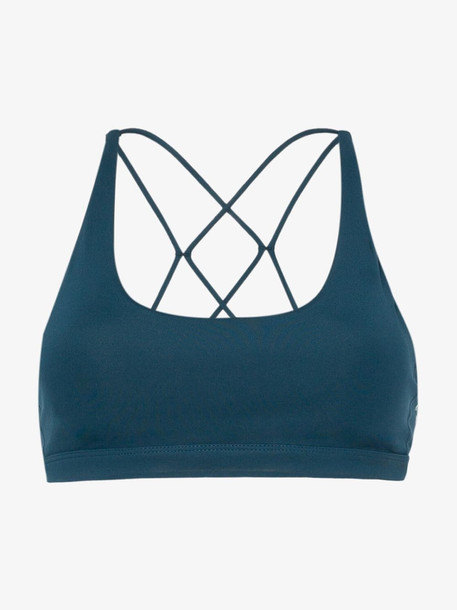 Nimble Activewear Flow and Go Sports Bra in blue