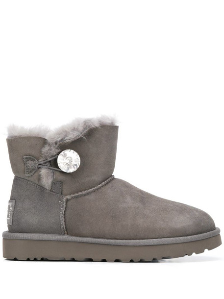 UGG Bailey button boots in grey