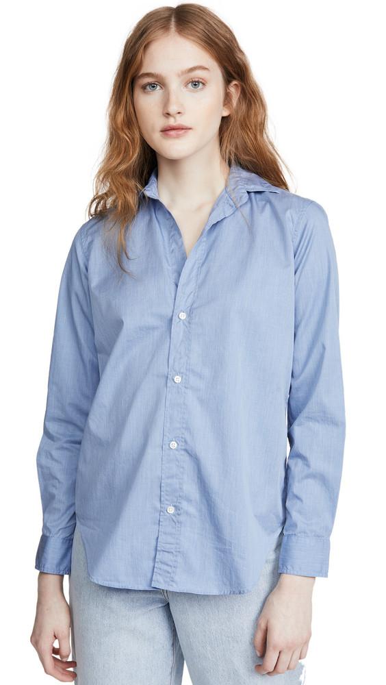 Frank & Eileen Frank Button Down Shirt in blue