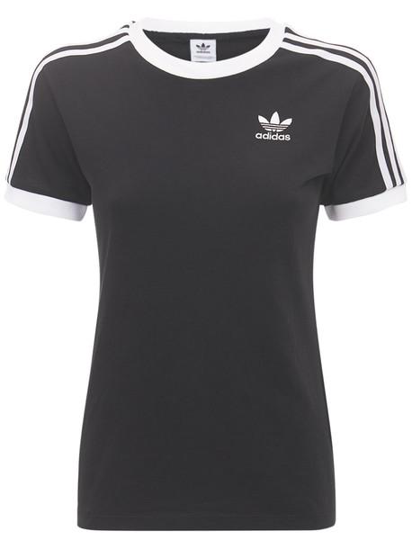 ADIDAS ORIGINALS 3 Stripes T-shirt in black
