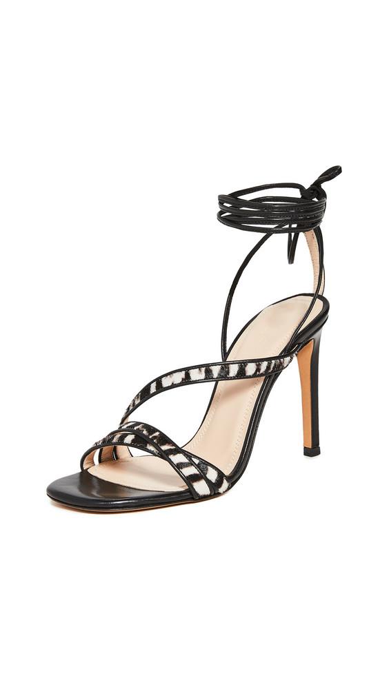 IRO Capucin Sandals in black / grey