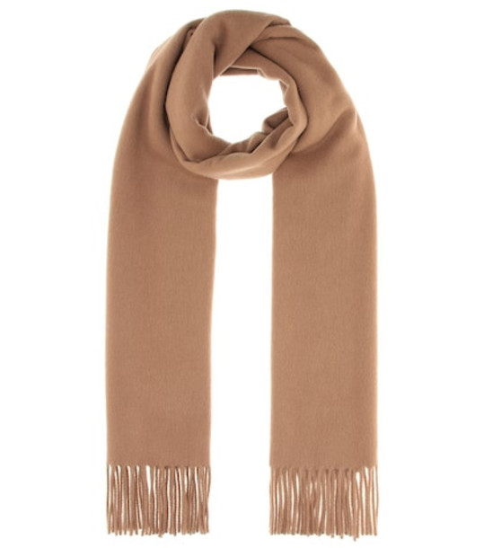 Acne Studios Canada New wool scarf in brown
