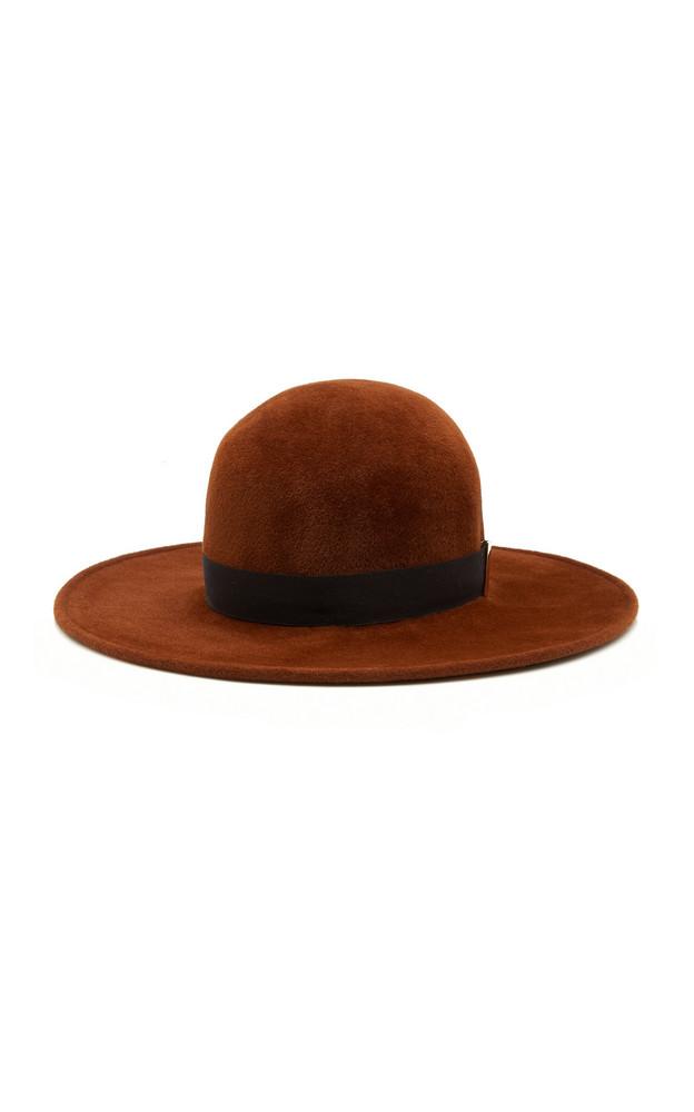 Gigi Burris Kyleigh Felt Hat in brown