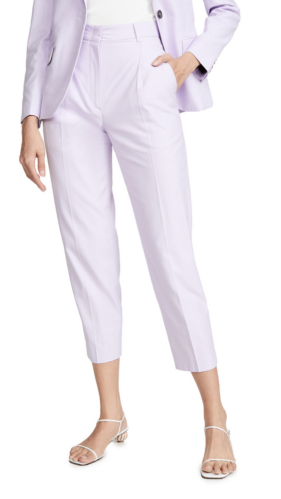 Paul Smith Slim Crop Trousers in lilac