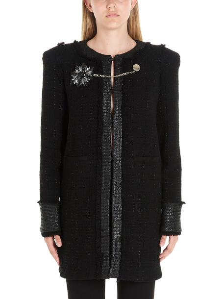 Pinko marginare Coat in black