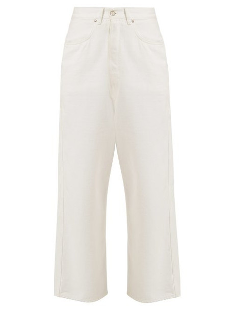 Golden Goose - Breezy Straight Leg Jeans - Womens - White