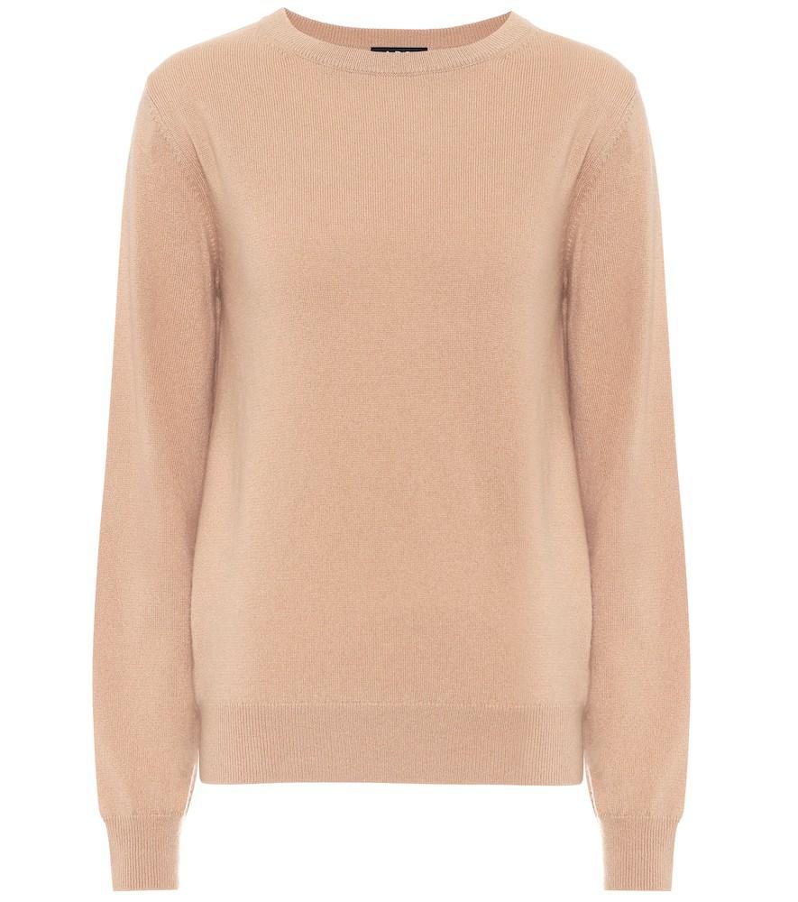 A.P.C. Nola cashmere sweater in beige