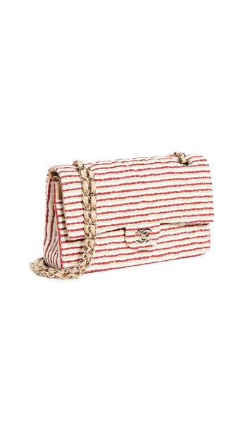 What Goes Around Comes Around Chanel Multi Canvas 2.55 10 Flap Bag