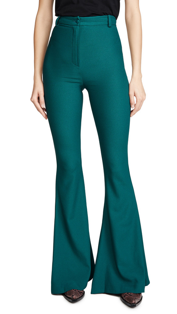 Hebe Studio Bianca Pants in green