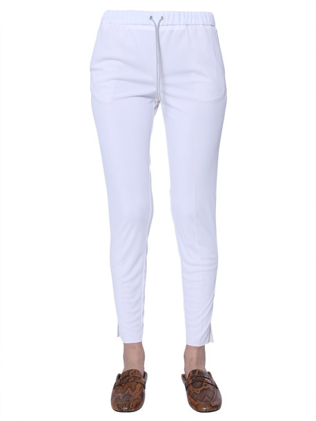 Fabiana Filippi Track Pants in bianco