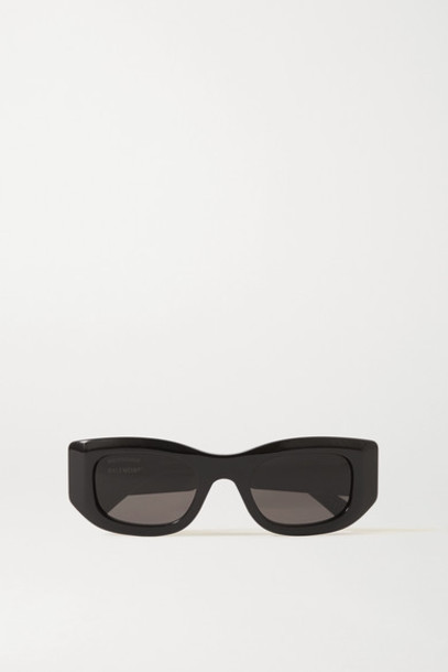 Balenciaga - Square-frame Acetate Sunglasses - Black