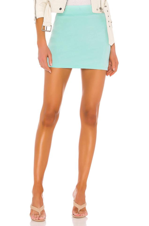 Susana Monaco Slim Skirt in blue