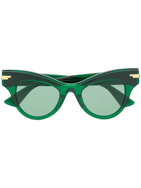 Bottega Veneta Eyewear The Original 04 sunglasses in green