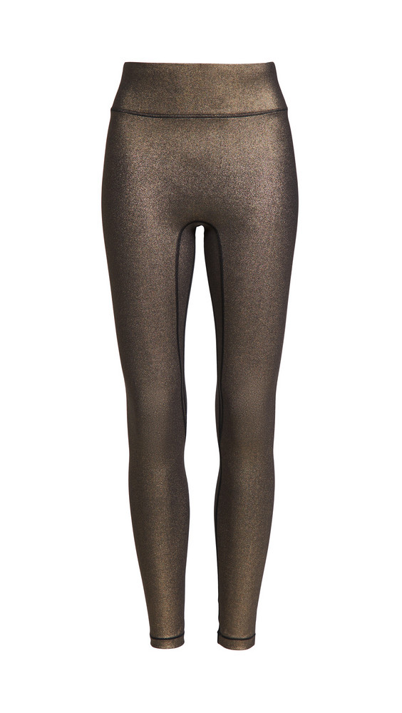 All Access Center Stage Leggings in gold