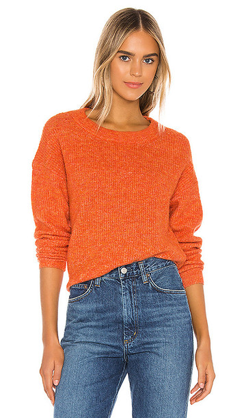HEARTLOOM Esther Sweater in Orange