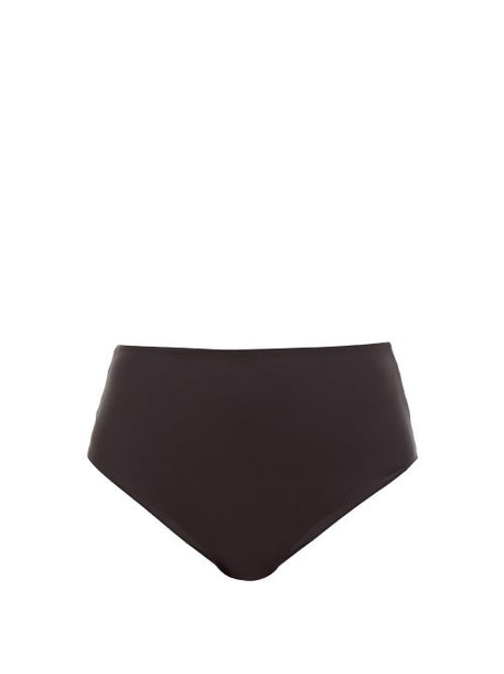 Jade Swim - Bound High Rise Bikini Briefs - Womens - Black