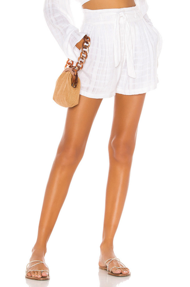 L*SPACE Florance Short in white