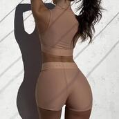 top,shorts