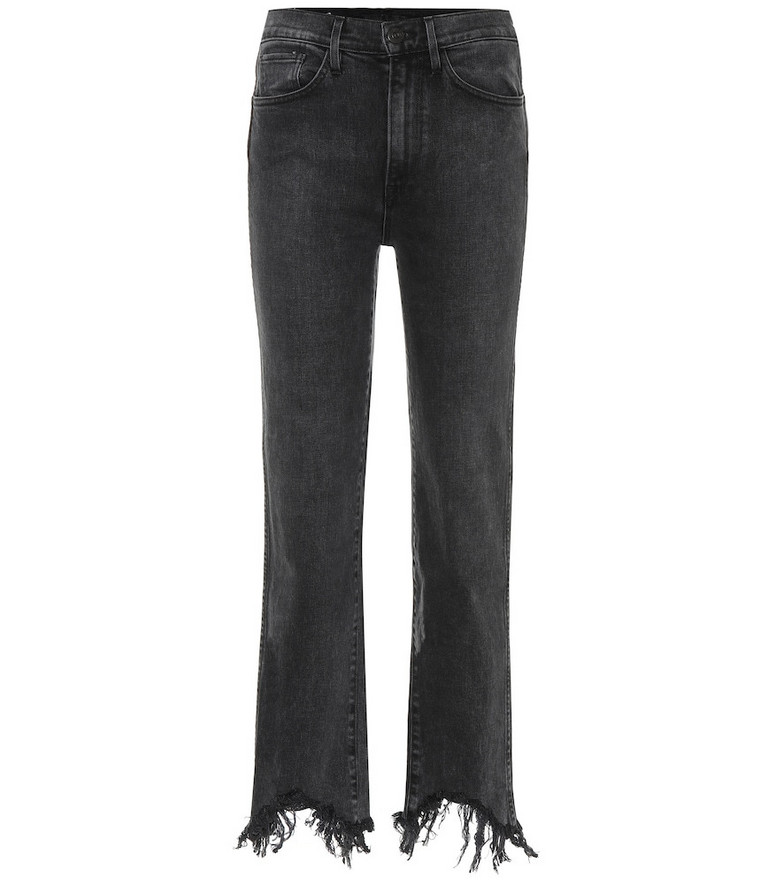 3x1 Austin high-rise cropped jeans in grey