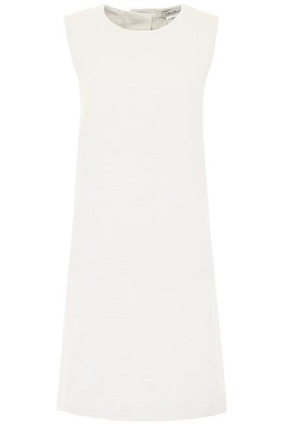 Max Mara Studio Flared Dress in ecru