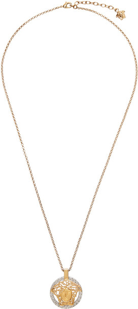 Versace Gold Medusa Touch Necklace