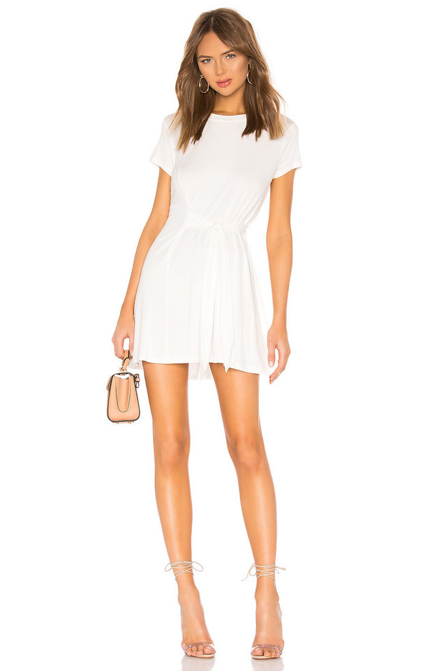L'Academie Cassidy Dress in white