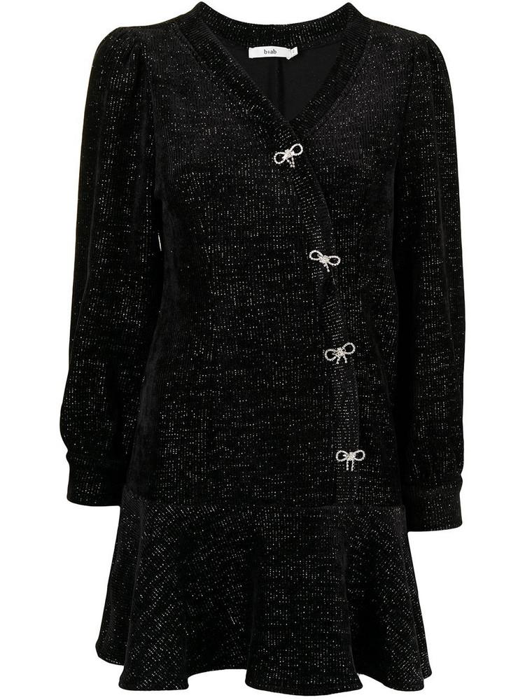 b+ab b+ab peplum hem dress - Black