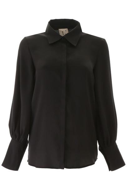 LAutre Chose Satin Shirt in black