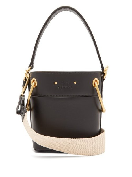 Chloé Chloé - Roy Mini Bucket Bag - Womens - Black