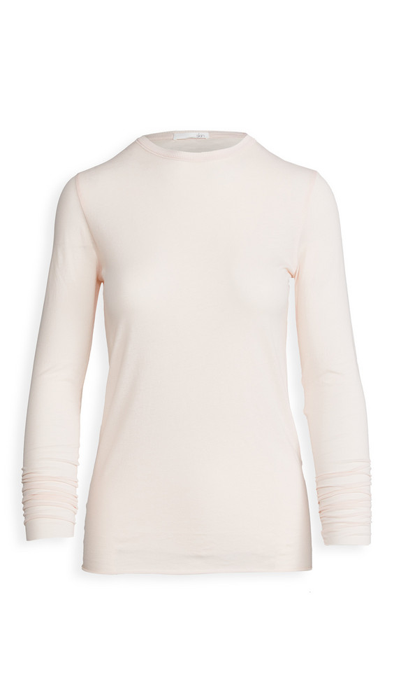 Skin Long Sleeve Tee in pink